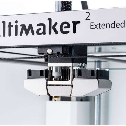 Ultimaker 2 Extended+ głowica