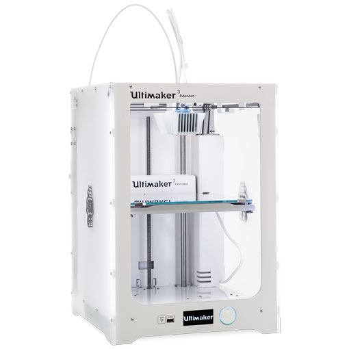 Ultimaker 3 Extended prawy profil