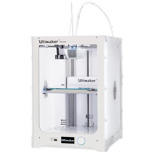 Ultimaker 3 Extended lewy profil