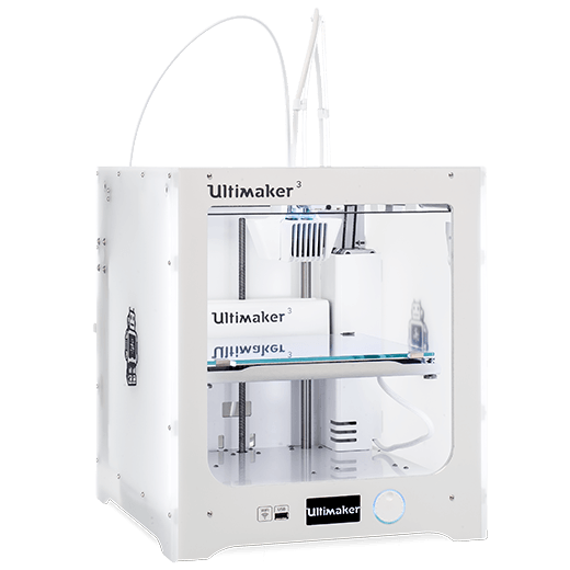 Ultimaker 3 side view