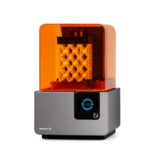 Drukarka 3D do żywic SLA Formlabs Form 2 wydruk 3D struktura ażurowa