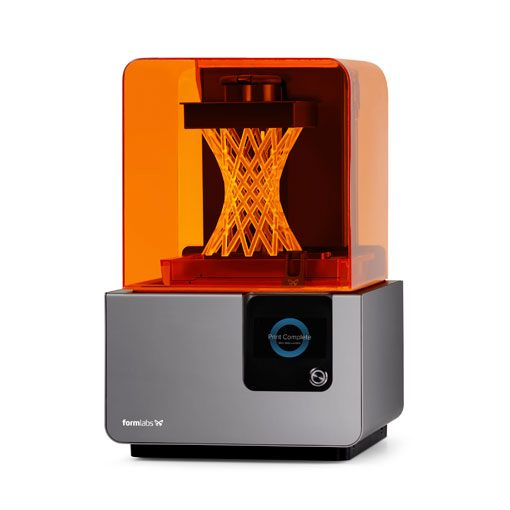 Drukarka 3D do żywic SLA Formlabs Form 2 wydruk 3D architektura
