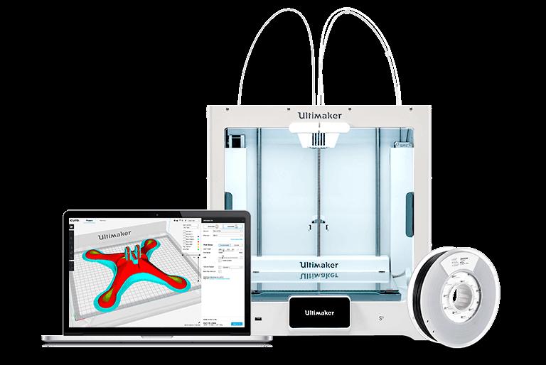 Ekosystem drukarek 3D Ultimaker